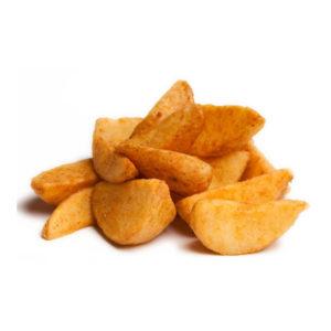 Картофель по-деревенски мал.